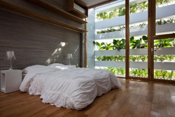 Una casa donde se vive entre plantas 5