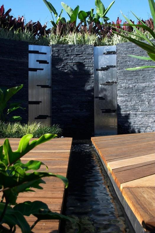 Muros de agua para exterior 7