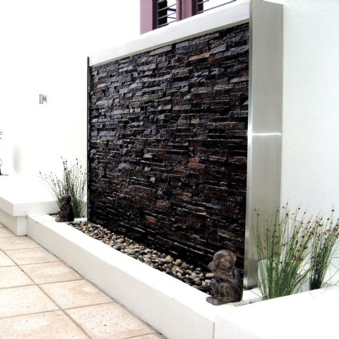 9 espectaculares muros de agua para exterior