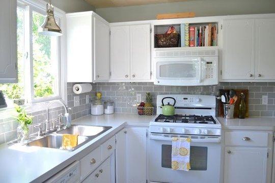 Azulejos estilo metro para darle un toque especial a tu cocina - Azulejos cocina ...