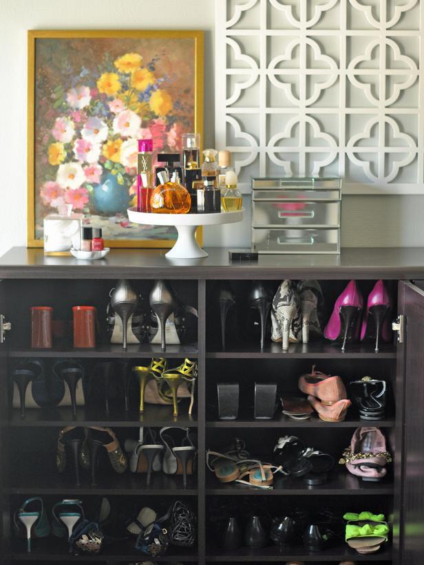 Perfecto Muebles De Almacenamiento De Calzado Entrada Componente ...