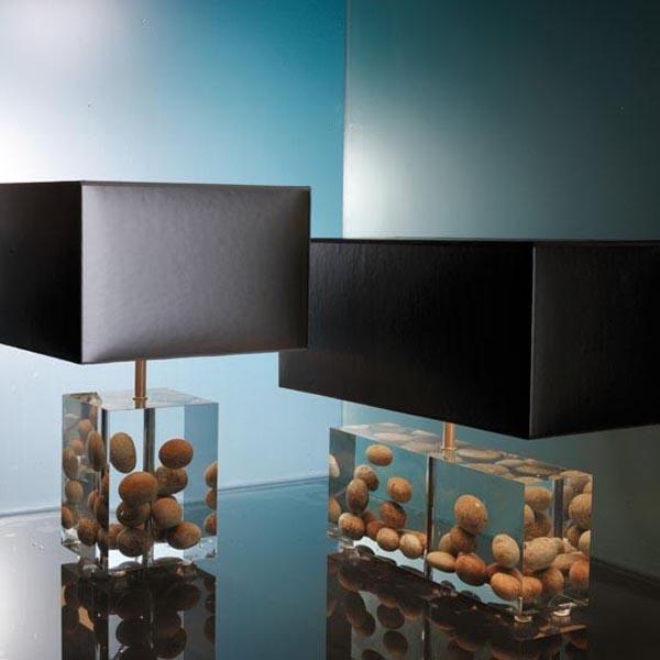 Decorar vasijas con piedras y gemas for Espejos decorados con piedras