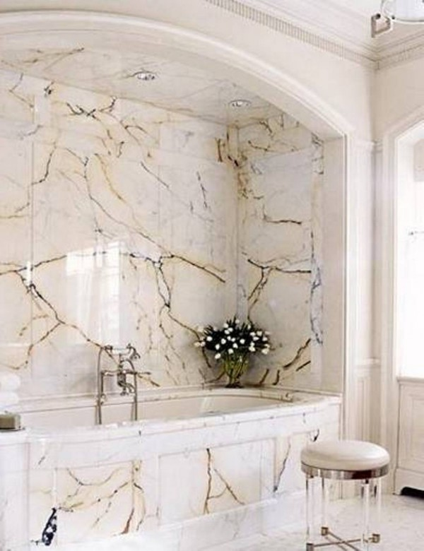 El m rmol en el cuarto de ba o for Colores de marmol para banos