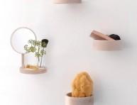 imagen Estanterías minimalistas para el baño