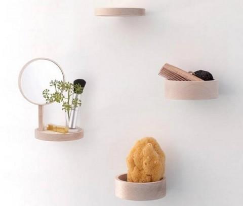 Baldas de baño minimalistas 1