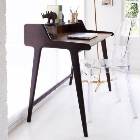 Cuatro ideas de mesa para la oficina en casa for Escritorios para salon