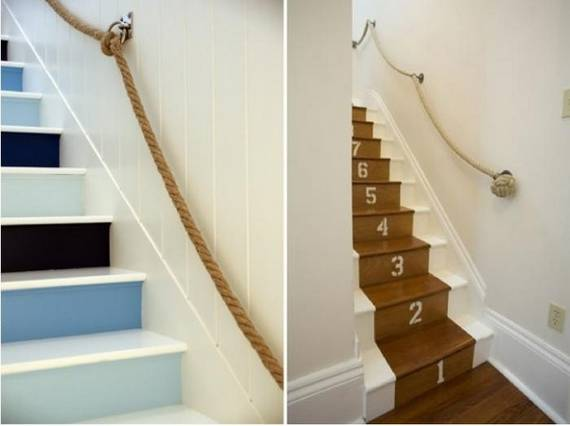 Ideas DIY escaleras 14