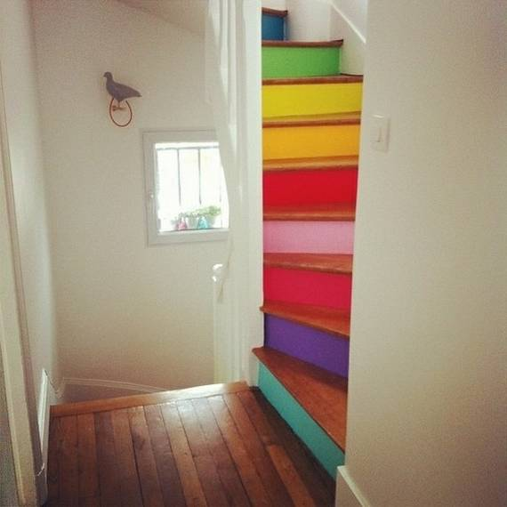Ideas DIY escaleras 17
