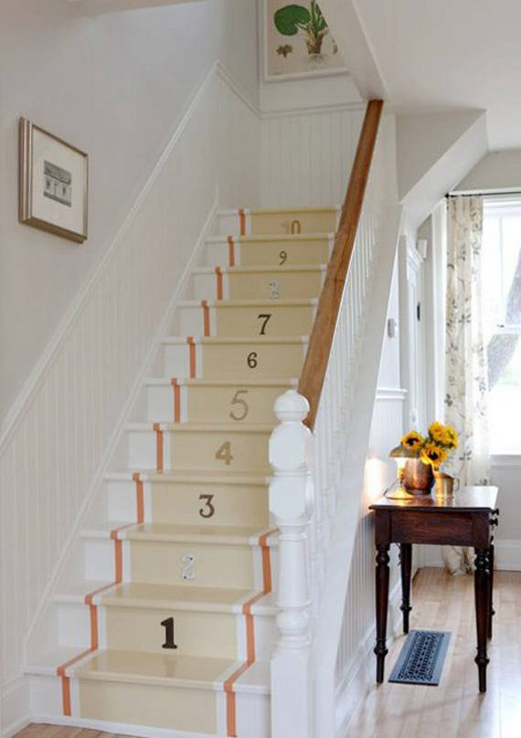 Ideas DIY escaleras 20