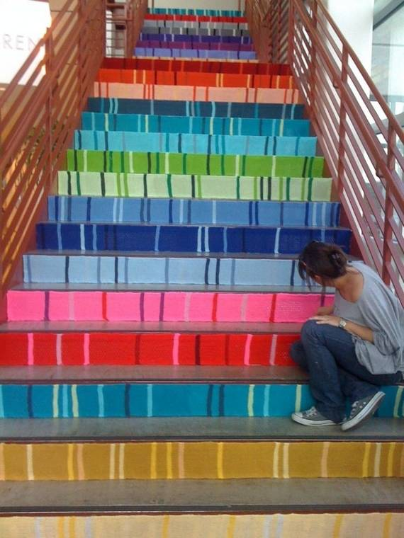 Ideas DIY escaleras 7