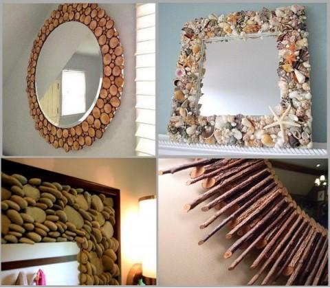 Ideas para decorar espejos - Diy home decor ideas pinterest ...
