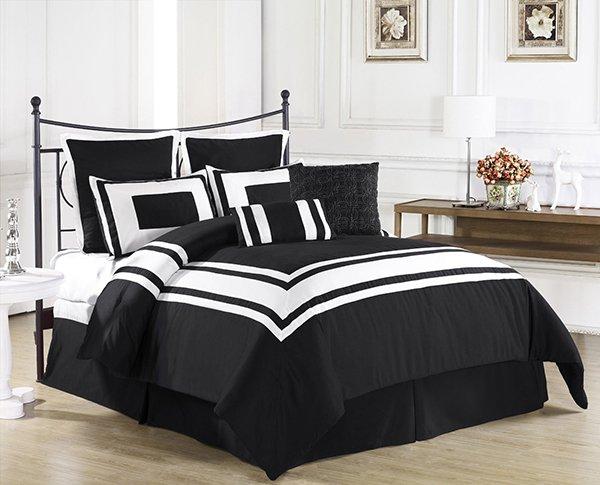 ideas-para-dormitorios-blanco-y-negro-03 | Guía para Decorar