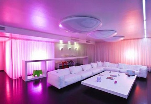 interior led lighting for homes iluminaci 243 n led para salones y comedores 24499