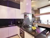 """imagen """"Parametrix Kitchen"""", la increíble cocina futurista con neones"""