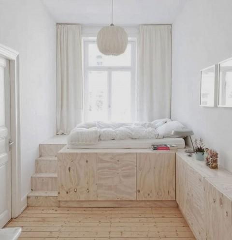 Habitaciones decoradas con madera 2