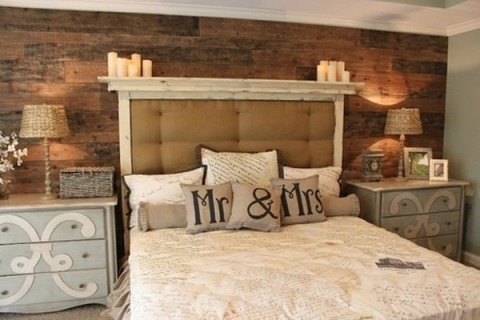 Inspiradoras habitaciones con madera - Dormitorios en madera ...