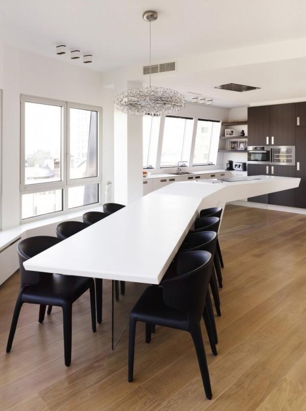 Las islas en las cocinas abiertas - Design eetkamer ...