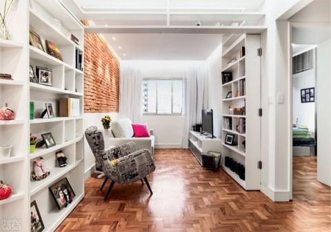 Salas pequeñas con estilo 1