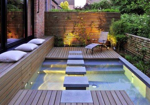 Piscinas y jacuzzis urbanos para terrazas for Piscinas para terrazas