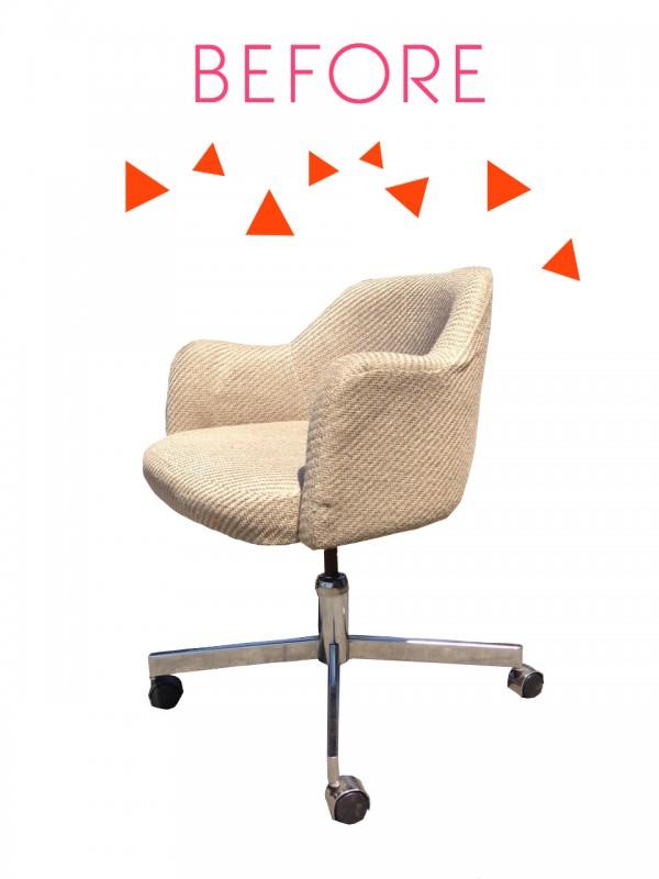 Renovar una silla de oficina 2