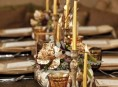 imagen Accesorios en oro para la mesa