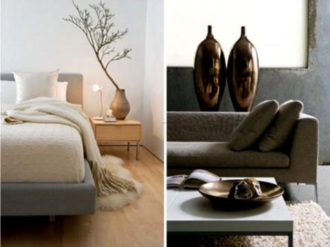 accesorios modernos y minimalistas para decorar interiores