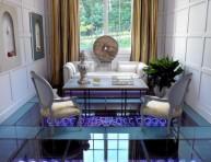 """imagen """"Pool House"""", una casa con inspiración gótica"""