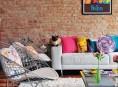 imagen Coloridos interiores de aquitectura industrial