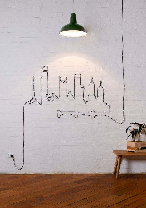 Decorar con cables 12