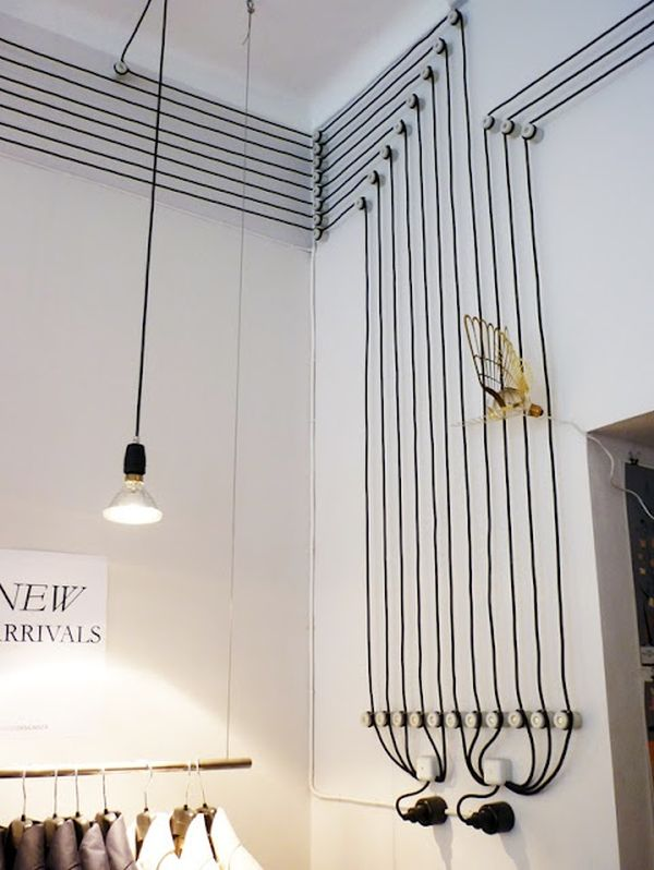 Decorar con cables 5