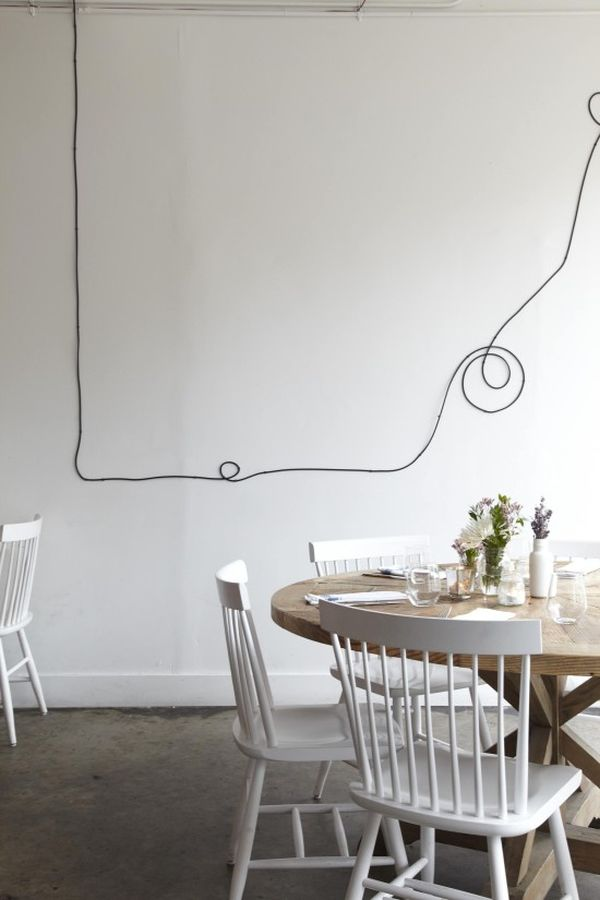 Decorar con cables 7