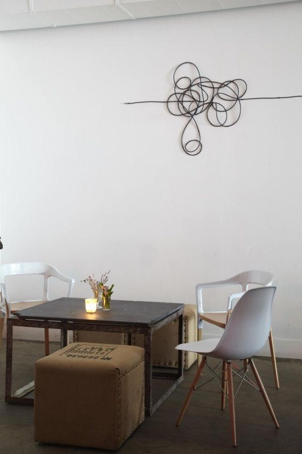 Decorar con cables 8