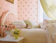 imagen Ideas de diseños retro para la pared del dormitorio