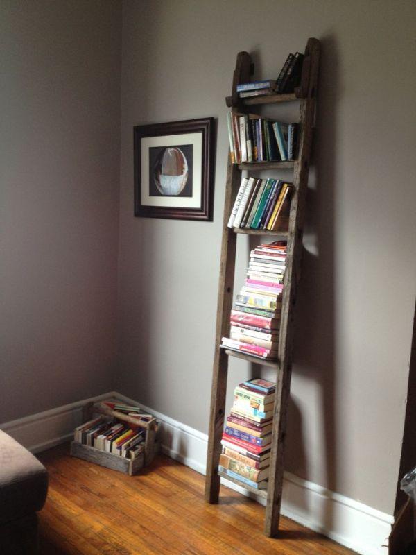 escalera estantera