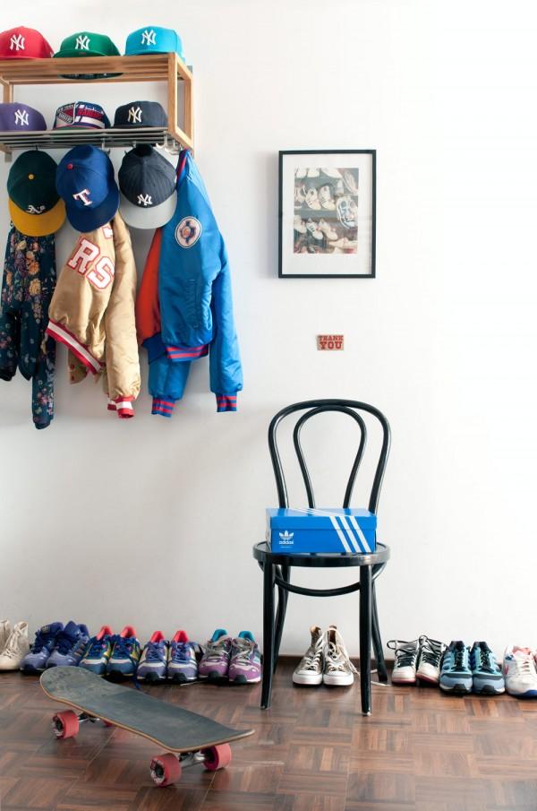Apartamento minimalista - retro 3