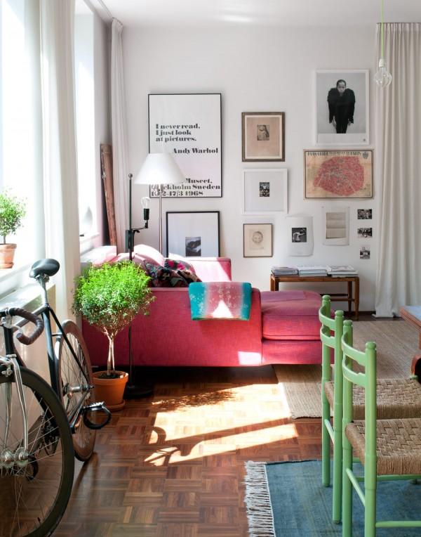 Apartamento minimalista - retro 4