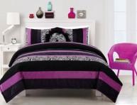 imagen Púrpura y negro, una buena combinación para el dormitorio