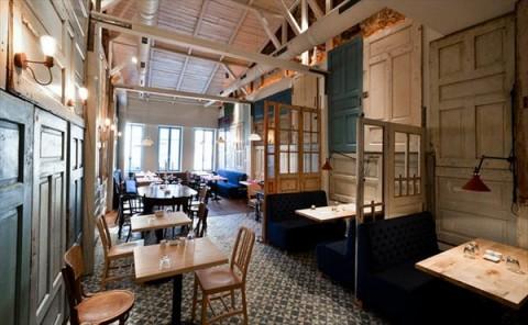 Restaurant de estilo vintage 2