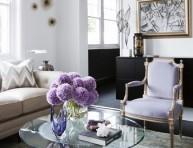imagen Salones con estilo en color lavanda