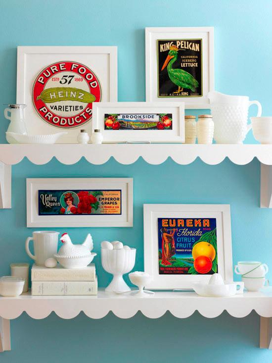 Detalles vintage para paredes 7