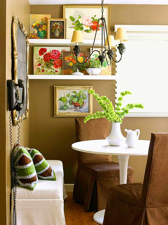Soluciones vintage para decorar paredes