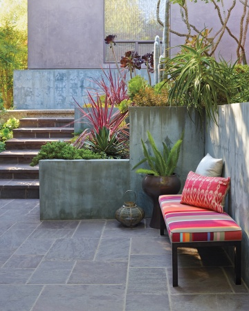 Tipos de pisos para tu jard n for Pisos para porches