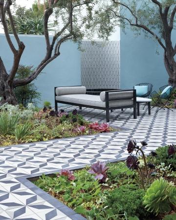 Tipos de pisos para tu jard n for Baldosas para el jardin