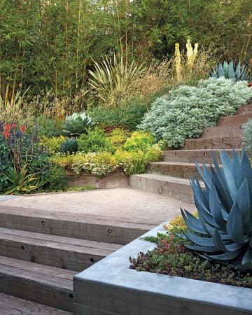 Tipos de pisos para tu jard n for Pisos para patios y jardines