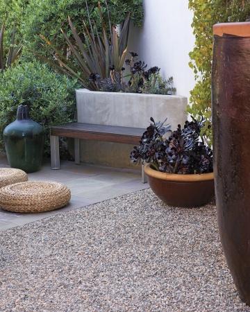 Tipos de pisos para tu jard n for Pisos para cocheras y patios