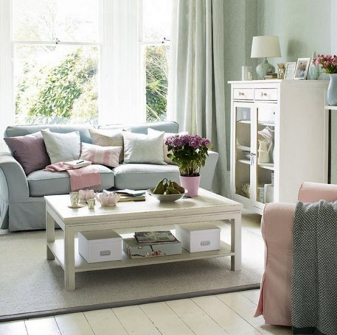 Inspirational room ideas turquoise and beige living room turquoise - C 243 Mo Usar Tonos Pastel En El Sal 243 N