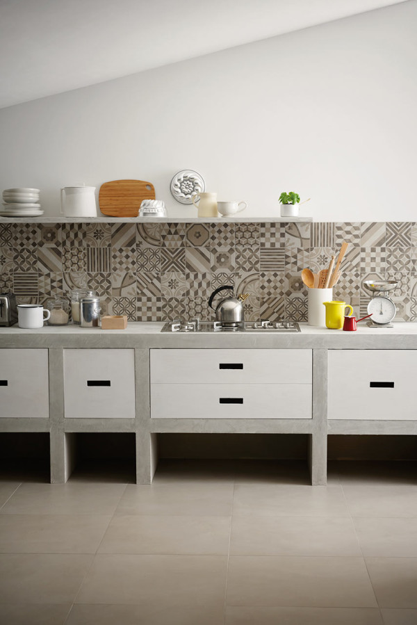 12 ideas para frentes de cocina for Rivestimenti adesivi per cucina