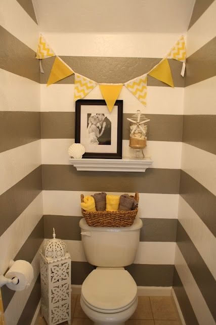 El amarillo puede decorar tu ba o for Bathroom design 6x7