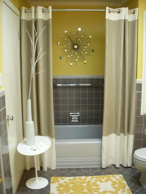 Accesorios Baño Amarillo:Baños en amarillo 12