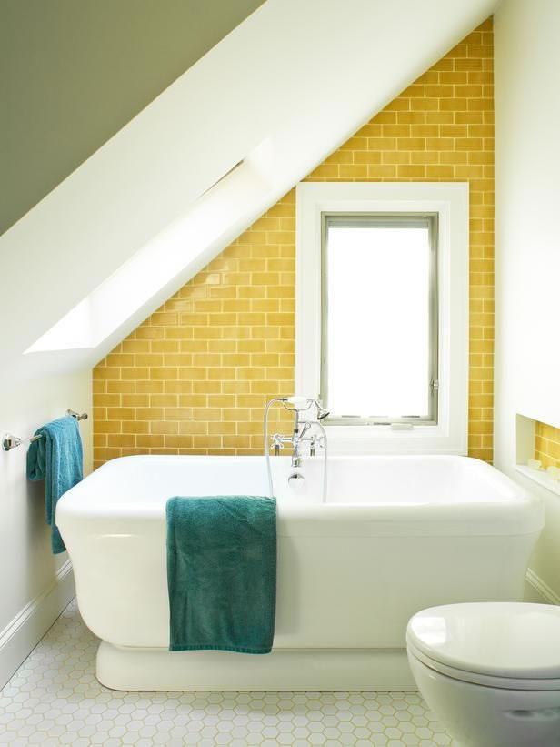 Accesorios Baño Amarillo:Baños en amarillo 13